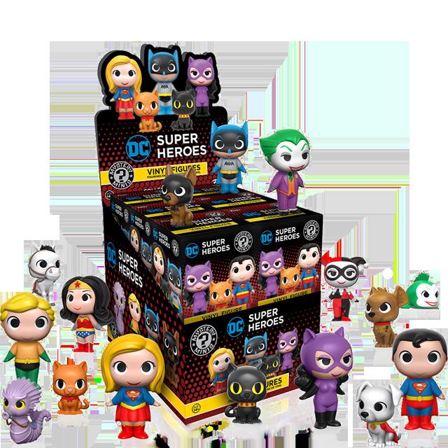 Figurky Mystery Minis DC Heroes a Mazlíčci - Blindbox