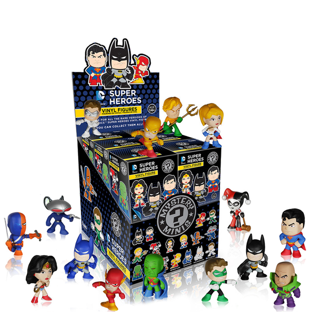 Figurky Mystery Minis DC Super Heroes - Blindbox