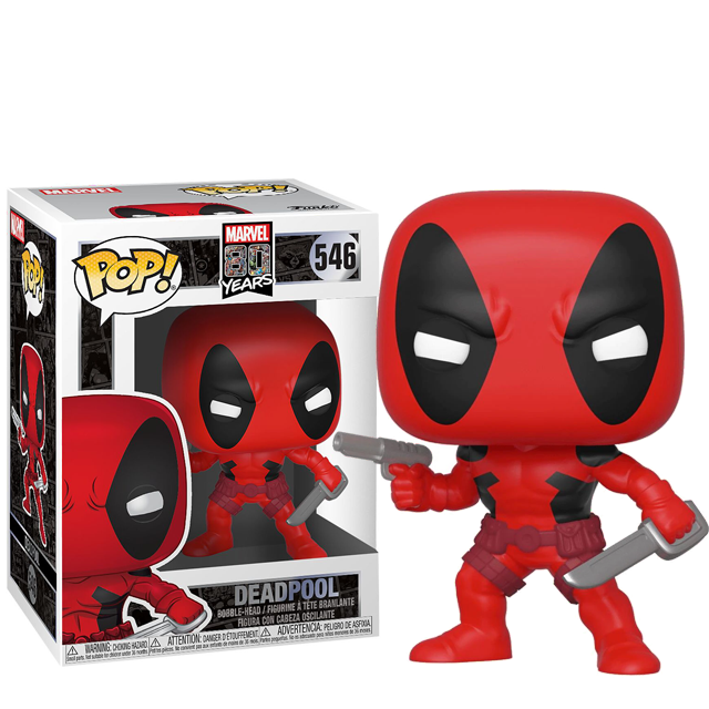 Figurka Funko POP Deadpool - 80th First Appearance