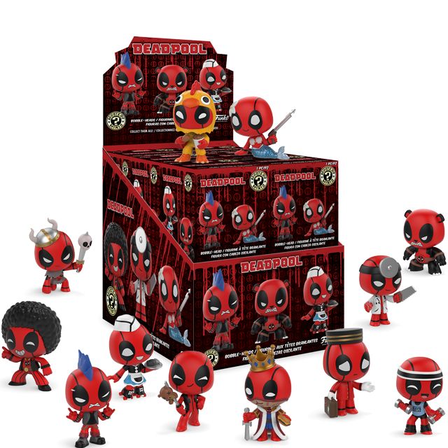 Figurky Mystery Minis Deadpool - Blindbox