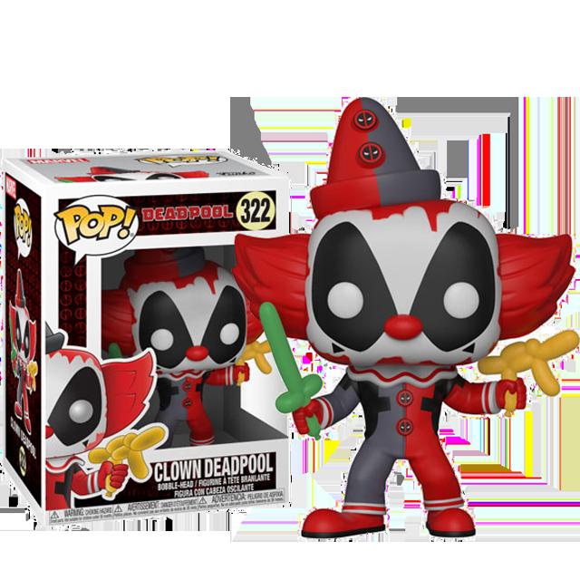 Figurka Funko POP! Deadpool klaun