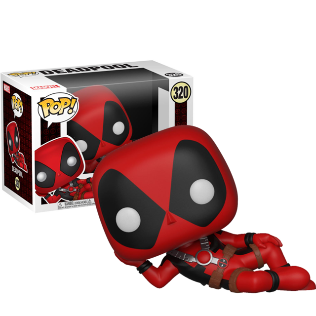 Figurka Funko POP Deadpool ležící