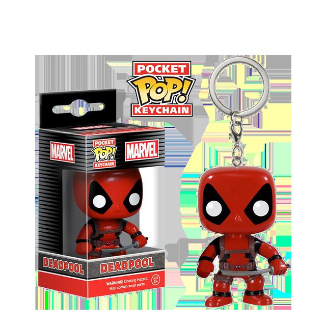Pocket POP! Deadpool - přívěsek na klíče