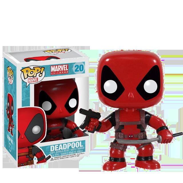 Figurka Funko POP! Deadpool se samopalem