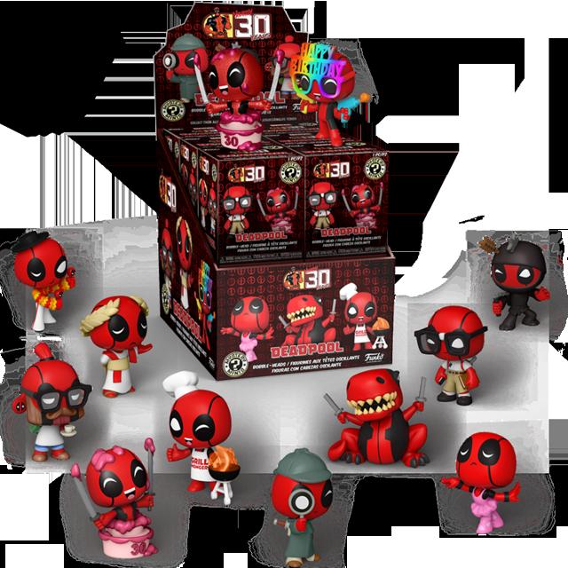 Mystery Minis Deadpool série 2 - Blindbox