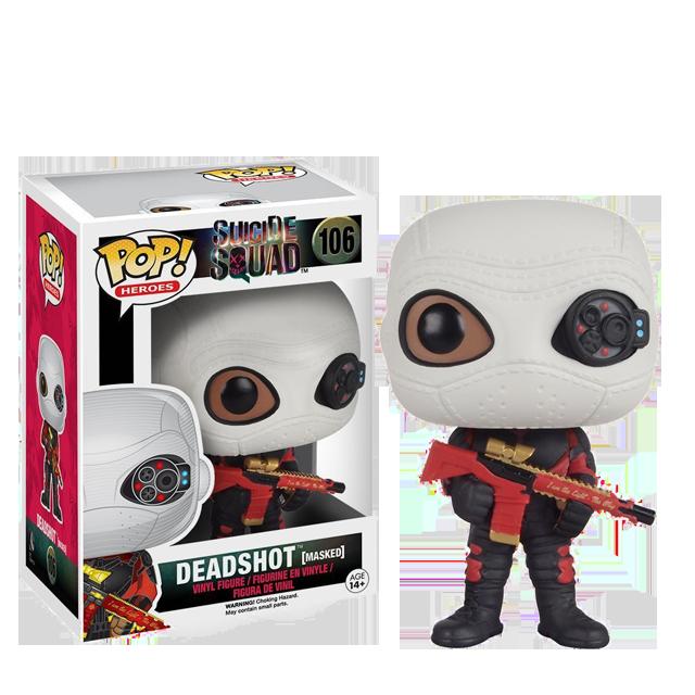 Figurka Funko POP! Deadshot v masce - Suicide Squad