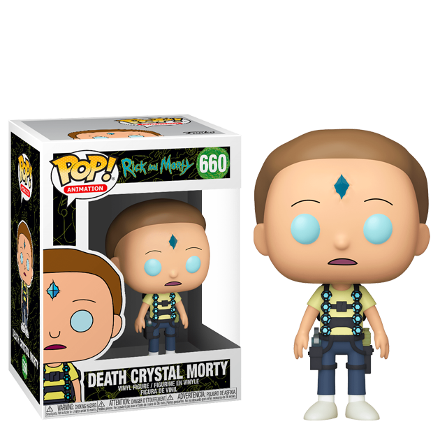 Funko POP Death Crystal Morty