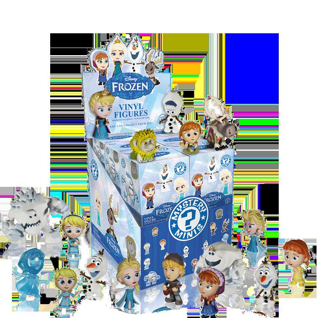 Figurky Mystery Minis Ledové království - Blindbox