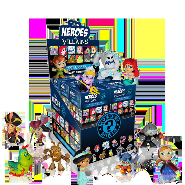 Figurky Mystery Minis Disney Heroes - Blindbox
