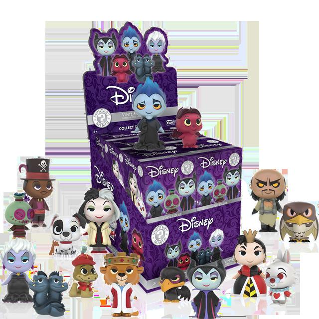 Figurky Mystery Minis Disney Padouši - Blindbox