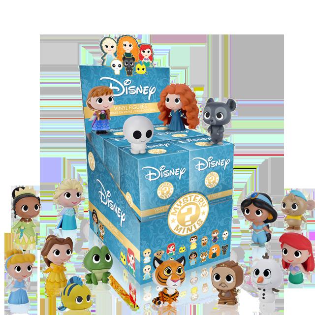 Figurky Mystery Minis Disney Princezny - Blindbox