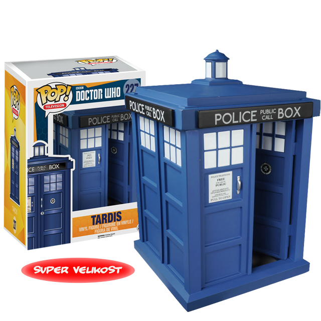 Figurka Funko POP! Doctor Who Tardis