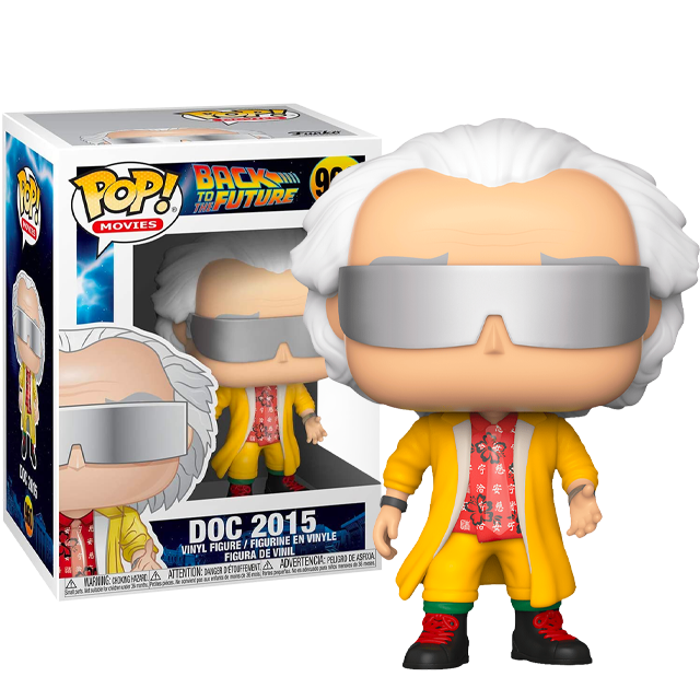 Funko POP Doktor Emmett Brown 2015