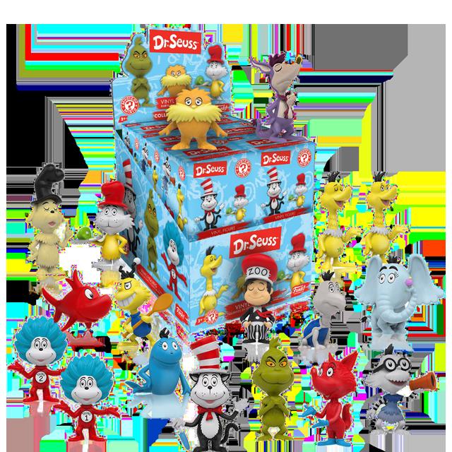Figurky Mystery Minis Dr. Seuss - Blindbox