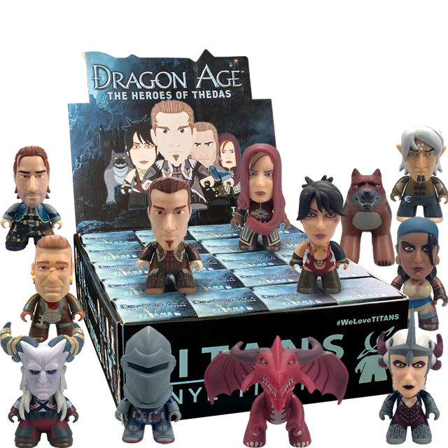 Figurky Titans Dragon Age - Blindbox