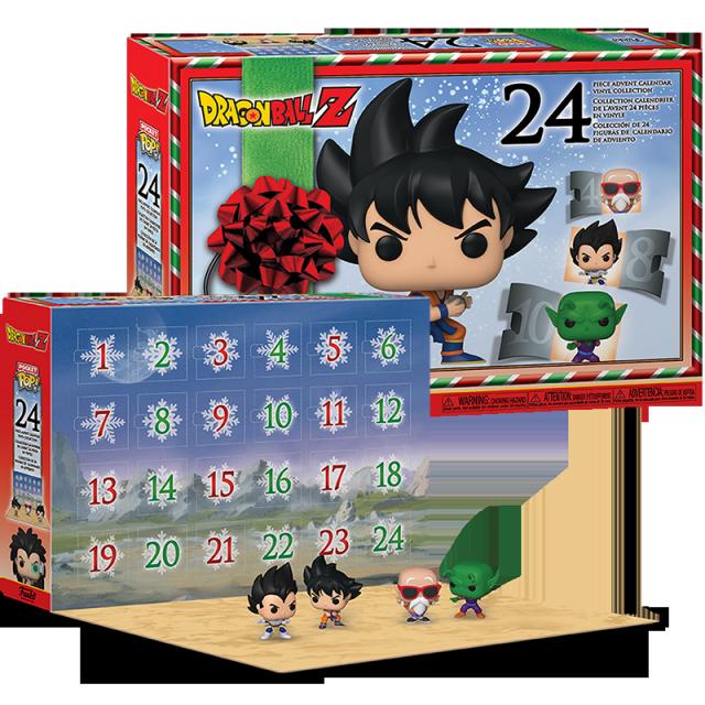 Figurka Funko POP Dragon Ball Z adventní kalendář 24 figurek