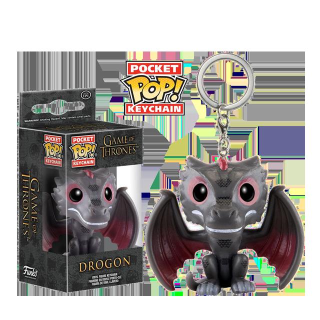 Pocket POP! Drogon - přívěsek na klíče