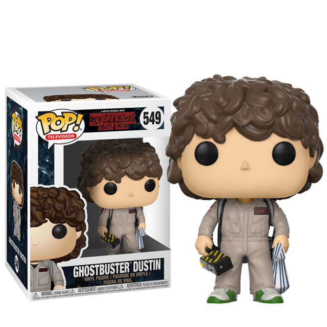 Figurka Funko POP! Dustin Ghostbuster