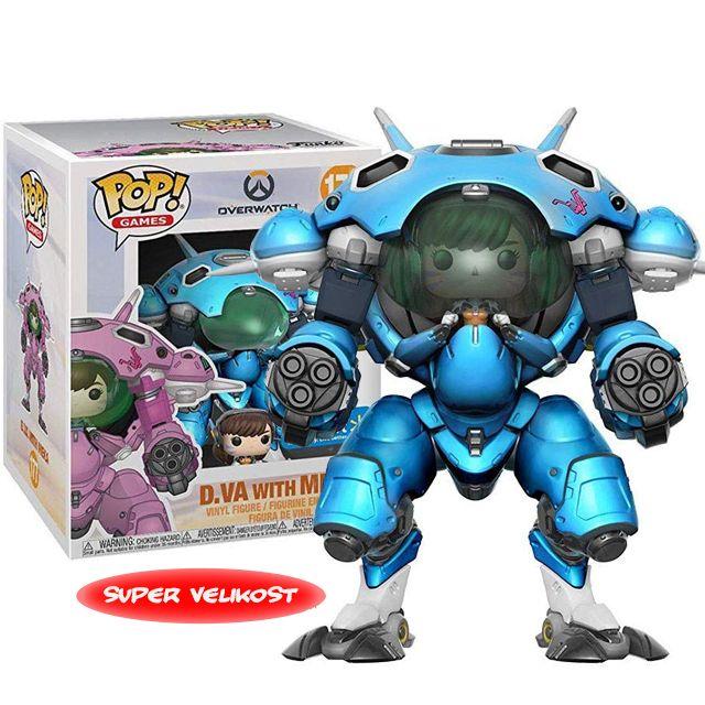 D.Va a Meka Blueberry - Overwatch