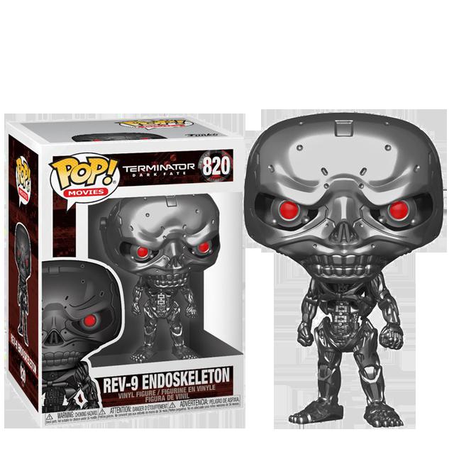 Figurka Funko POP Endoskeleton - Terminator
