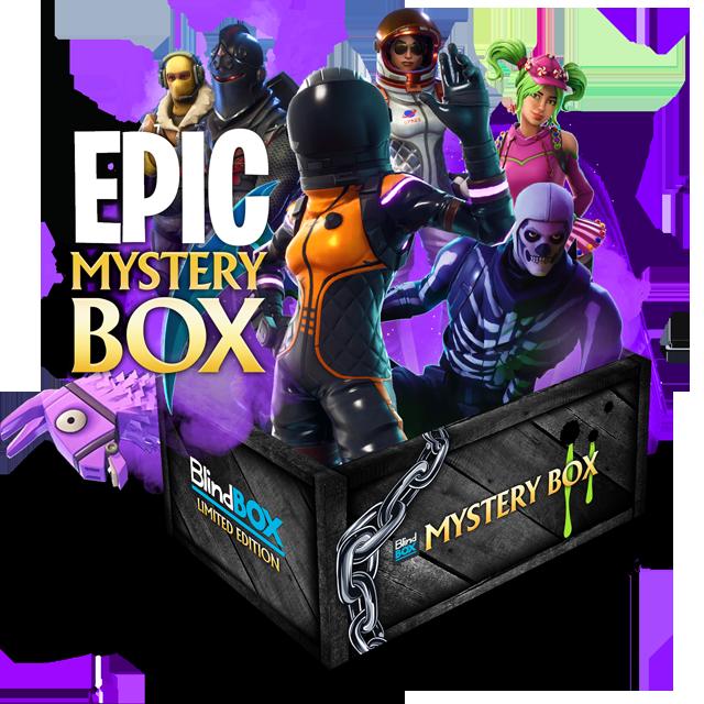 Blindbox Fortnite #1 Mystery Box