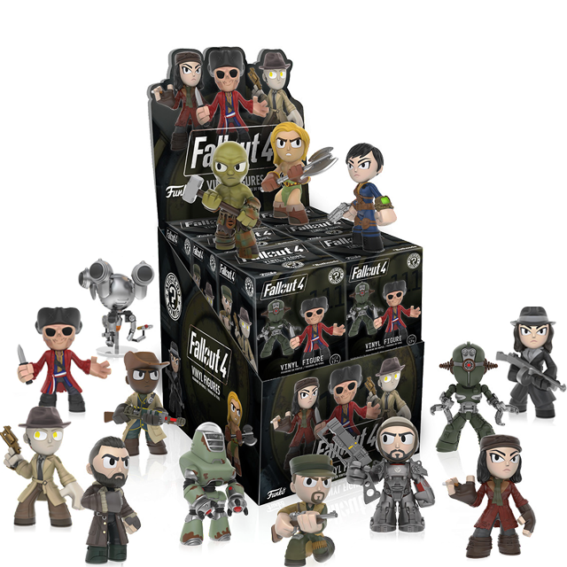Figurky Mystery Minis Fallout 4 - Blindbox