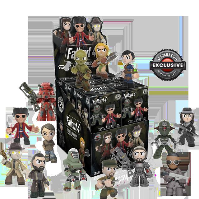 Figurky Mystery Minis Fallout 4 - Blindbox GAMESTOP