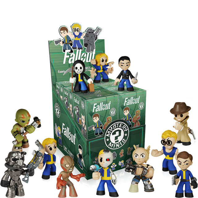 Figurky Mystery Minis Fallout - Blindbox