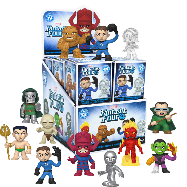 Figurky Mystery Minis Fantastic Four - Blindbox
