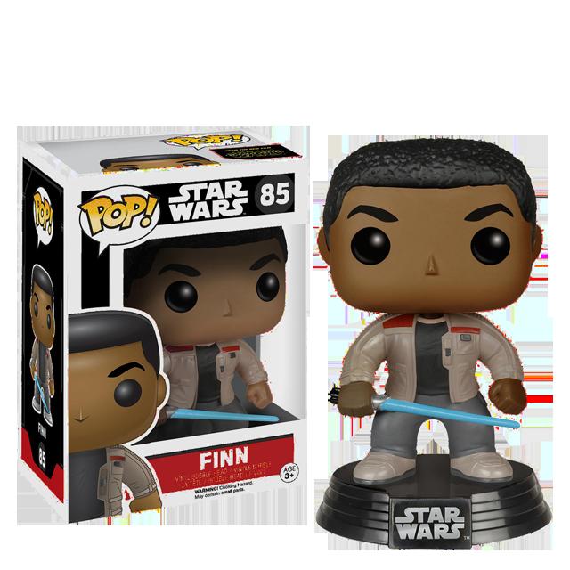Figurka Funko POP! Finn se světelným mečem