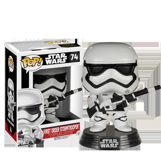 Figurka Funko POP! First Order Stormtrooper s blasterem