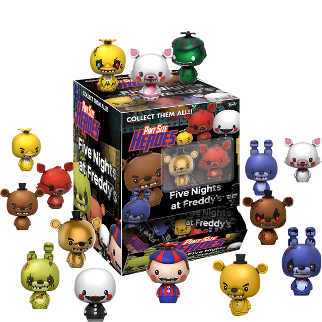Pint Size Heroes Five Nights at Freddy's - PINT SIZE Blindbox