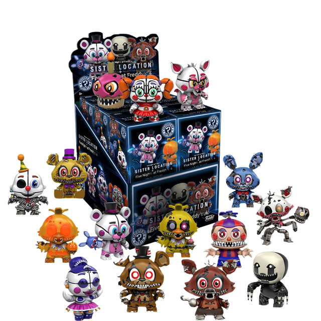 Figurky Mystery Minis Five Night's at Freddy's série 2 - Blindbox