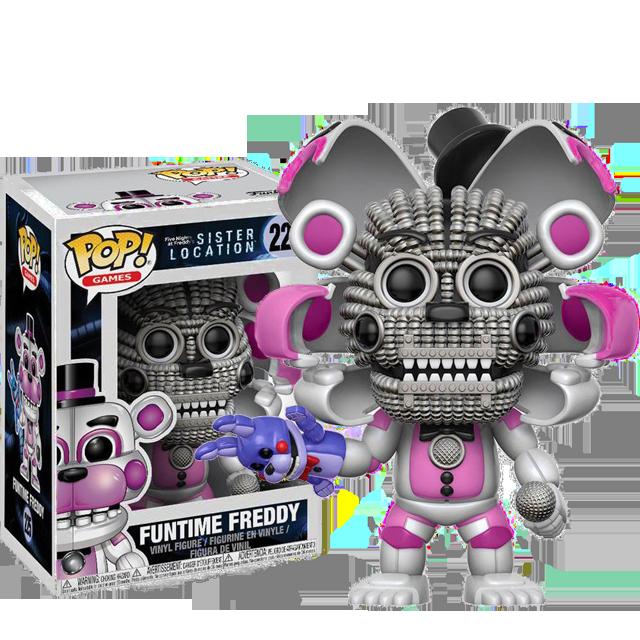 Figurka Funko POP Funtime Freddy - Five Nights at Freddy's CHASE