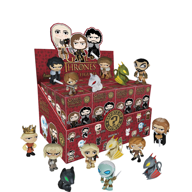 Figurky Mystery Minis Game of Thrones - Blindbox série 1