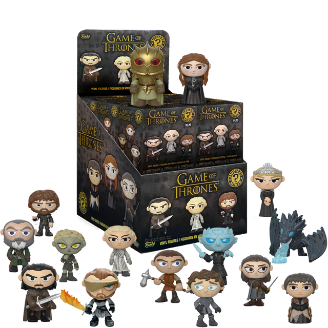 Figurky Mystery Minis Game of Thrones - Blindbox série 4