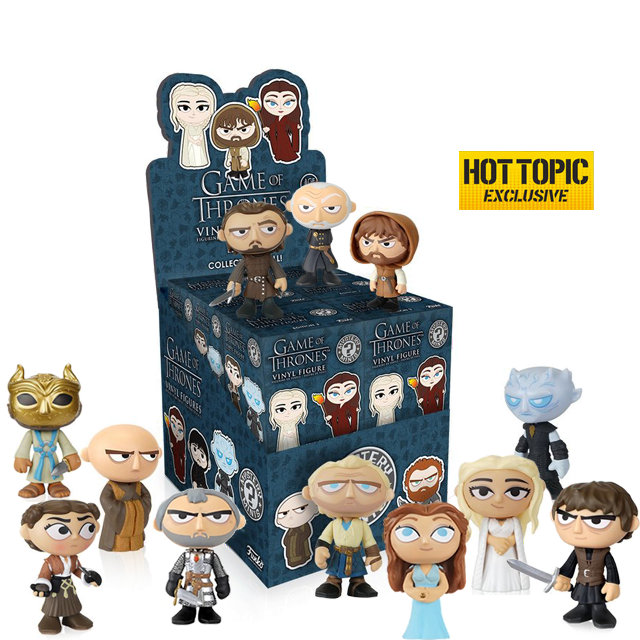 Figurky Mystery Minis Game of Thrones - Blindbox série 3 HOTTOPIC