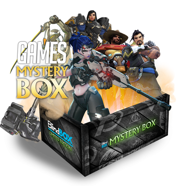 Blindbox Games #3 Overwatch Mystery Box