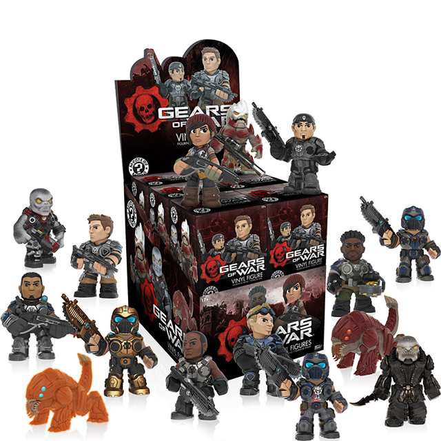 Figurky Mystery Minis Gears of War - Blindbox