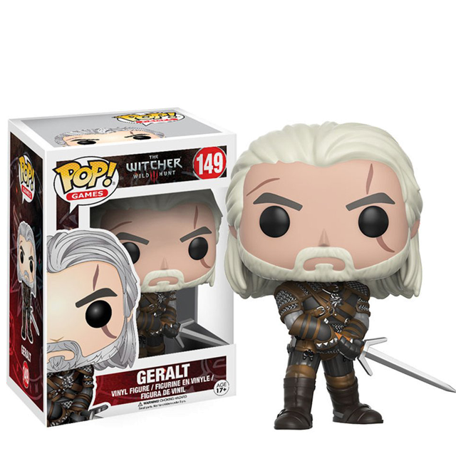 Figurka Funko POP! Geralt - Witcher 3