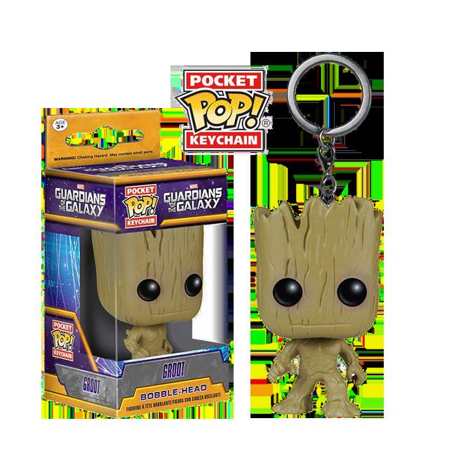 Pocket POP! Groot - přívěsek na klíče