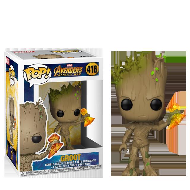 Figurka Funko POP! Groot Stormbreaker - Infinity War
