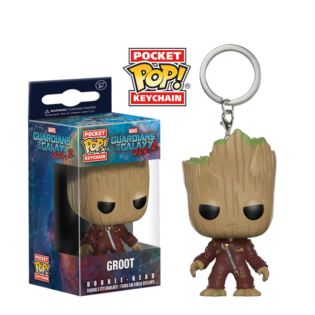 Pocket POP! Groot v obleku - přívěsek na klíče
