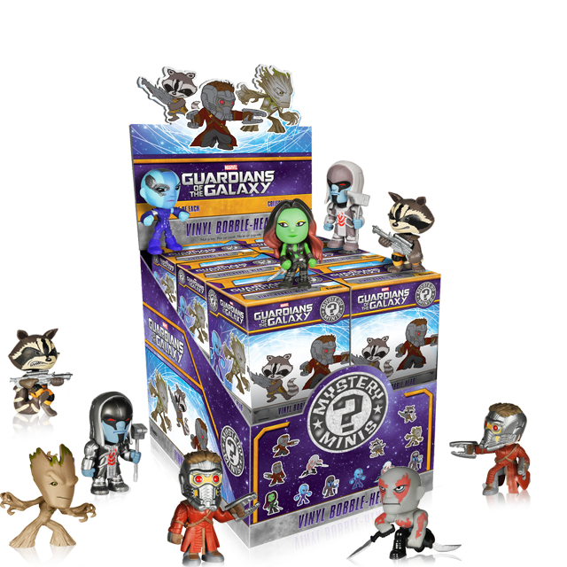 Figurky Mystery Minis Guardians Of The Galaxy - Blindbox