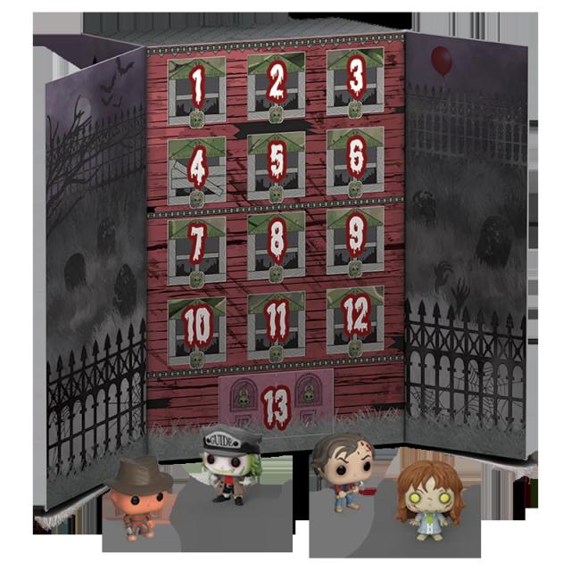 Pocket POP Hororový kalendář 13 figurek