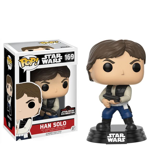 Han Solo s blasterem