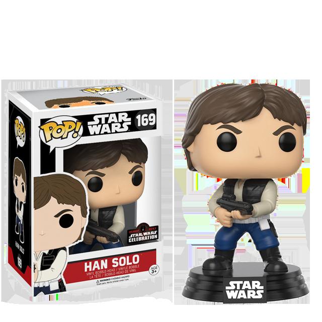 Figurka Funko POP! Han Solo s blasterem