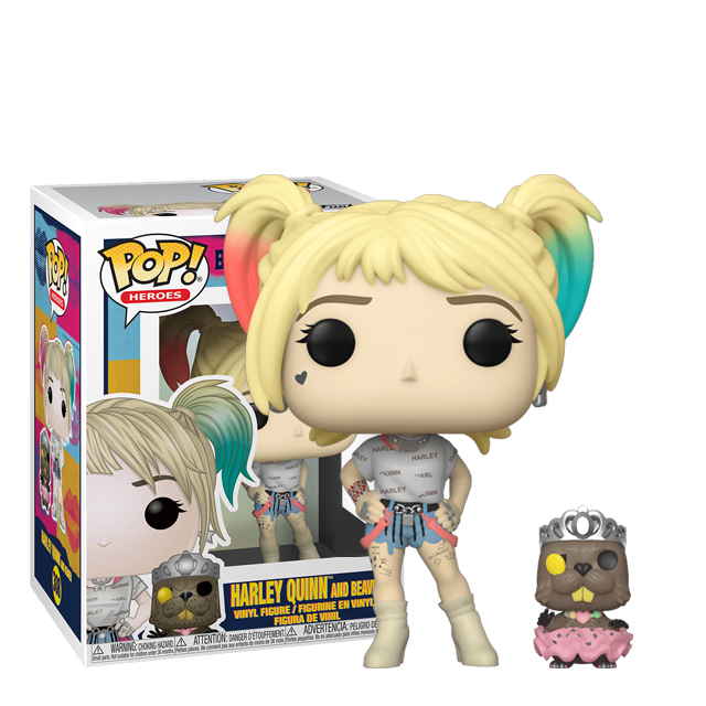 Figurka Funko POP Harley Quinn and Beaver - Birds of Prey