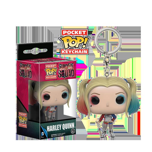 Pocket POP! Harley Quinn - přívěsek na klíče