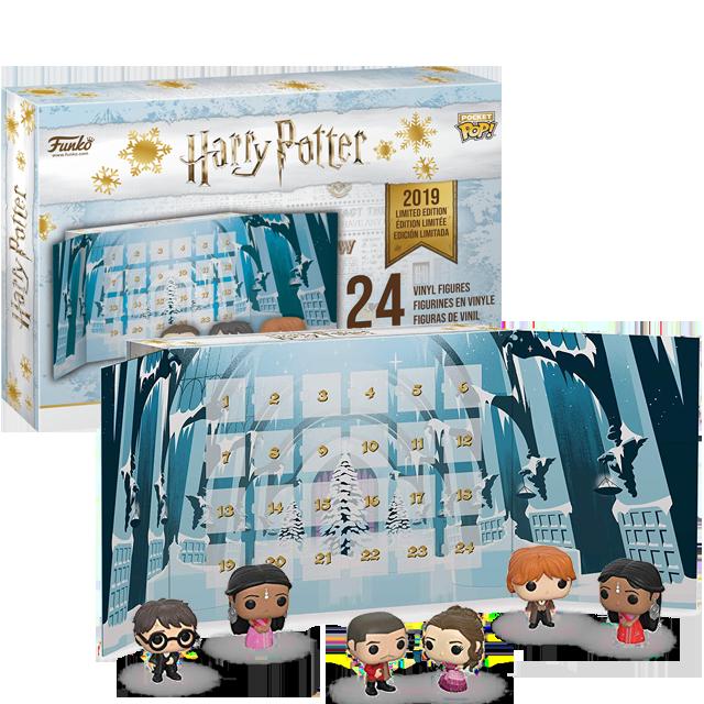 Pocket POP! Harry Potter kalendář 24 figurek
